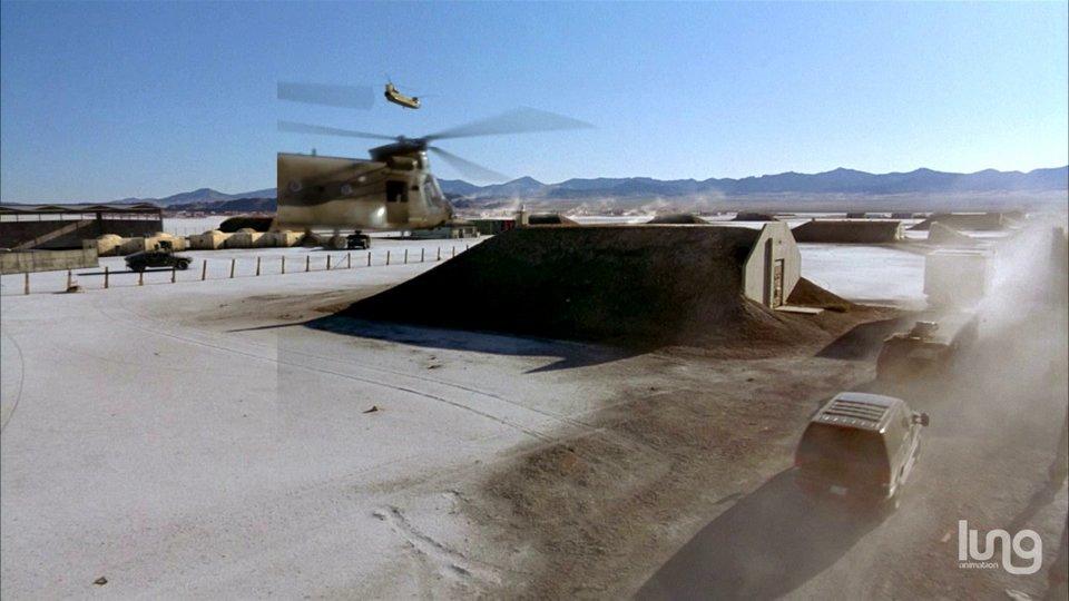 Chinook Test Shot