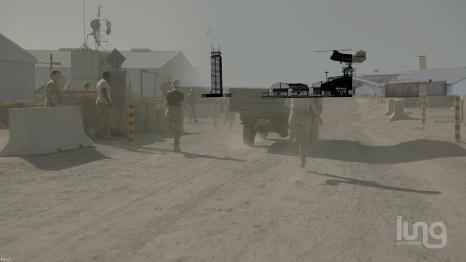 Camp Bastion Hospital Breakdown