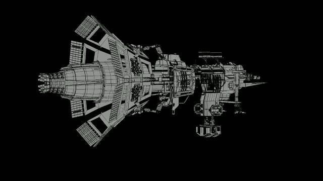 Stars making of – Megaphone Spaceship